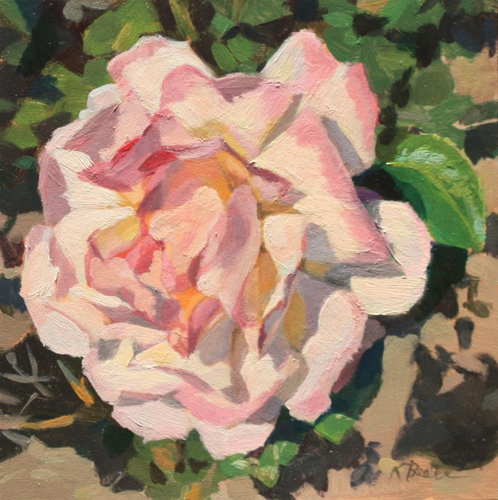"""Rockridge Rose"" original fine art by Kaethe Bealer"