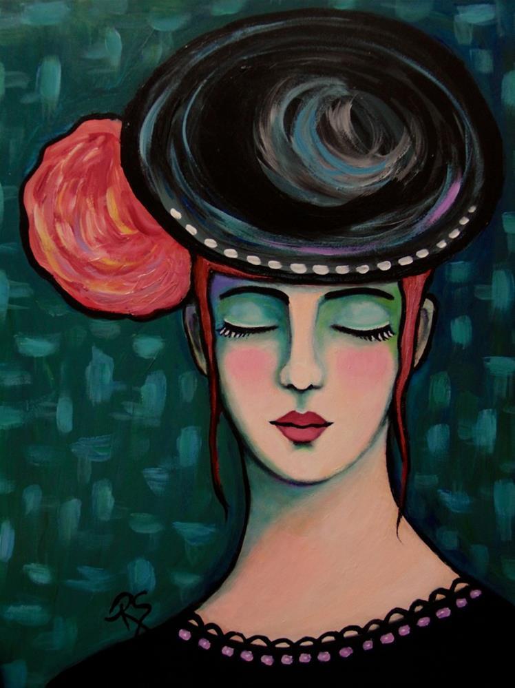 """""""Lost in a Daydream II"""" original fine art by Roberta Schmidt"""