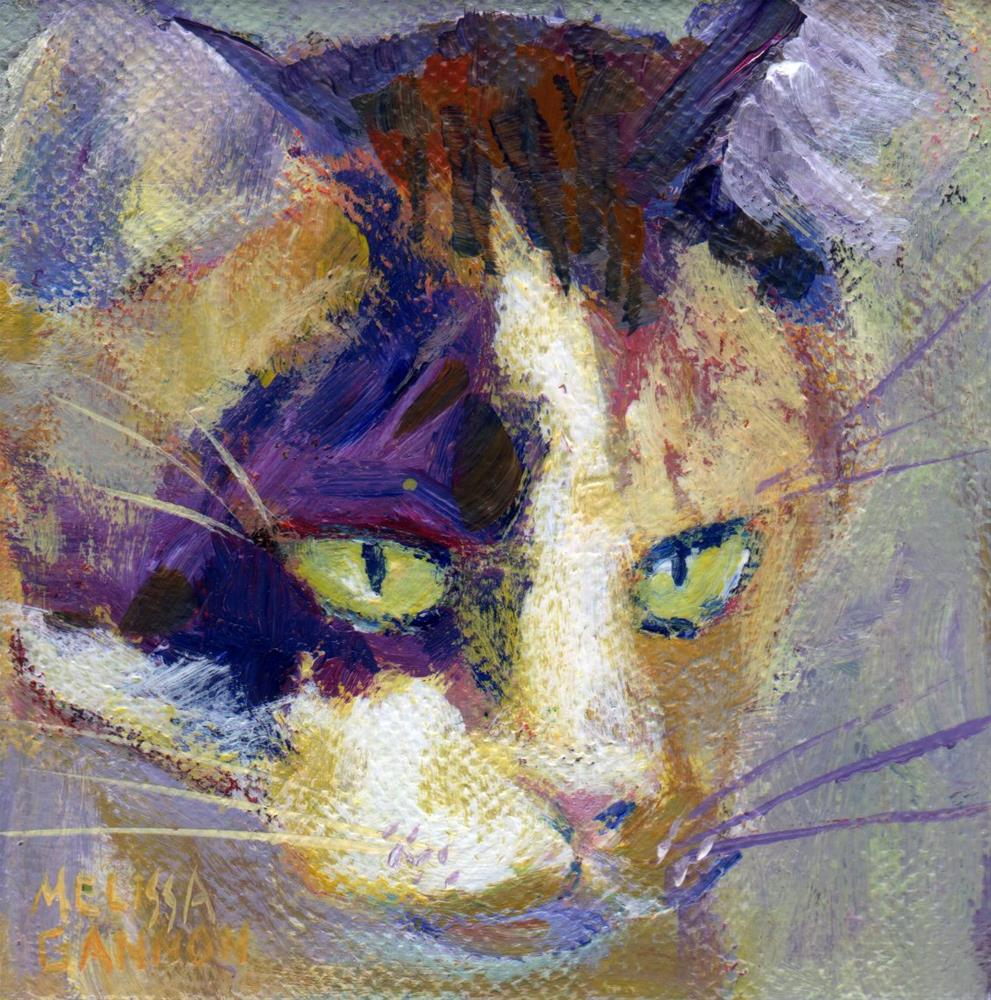 """""""Cute & Cuddly"""" original fine art by Melissa Gannon"""