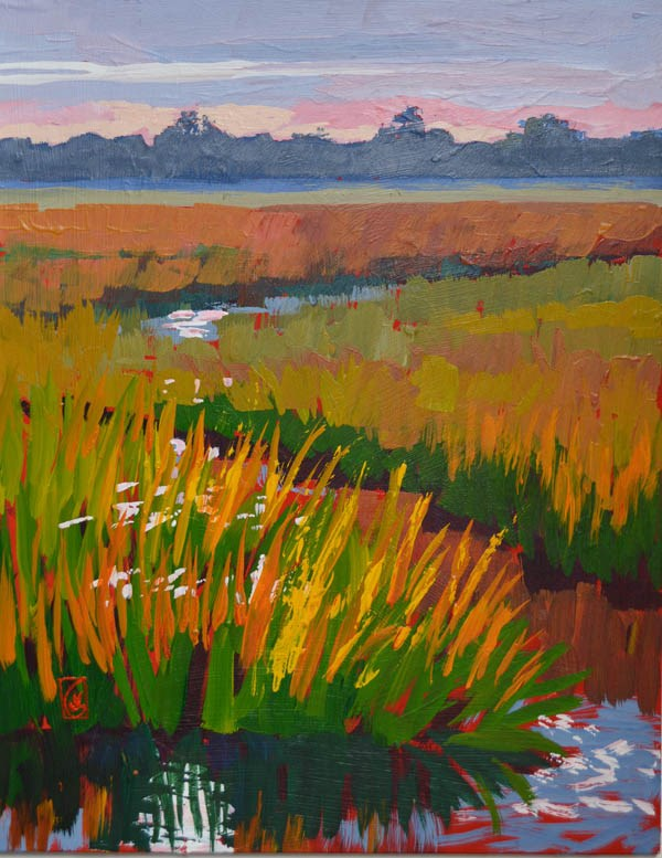 """Early Morning Edisto"" original fine art by Lucinda Howe"