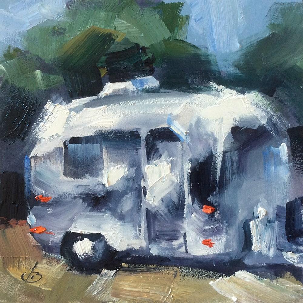 """""""FRESH AIR"""" original fine art by Tom Brown"""