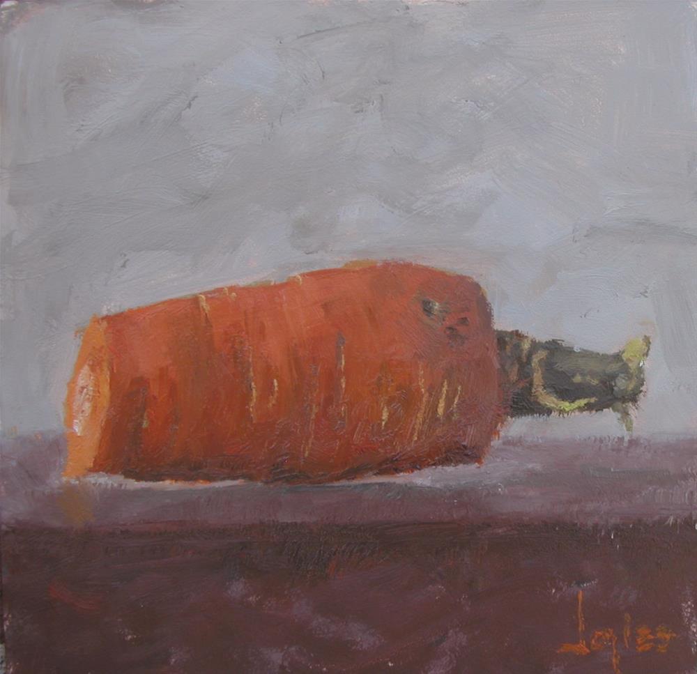 """""""Carrot"""" original fine art by Richard Jones"""