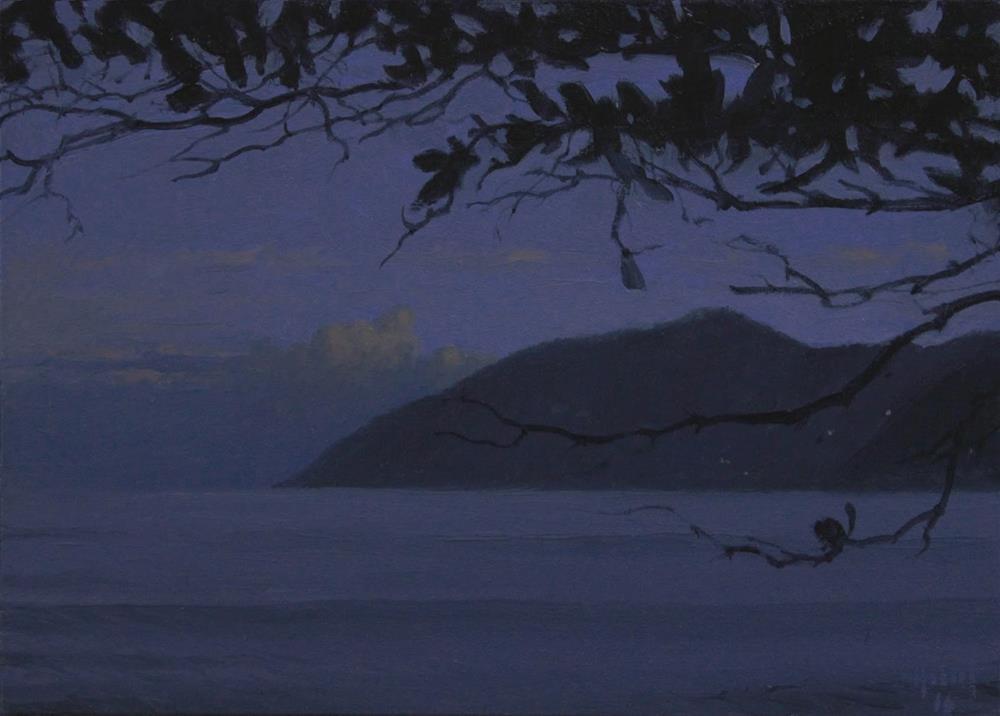 """First Light"" original fine art by Ski Holm"