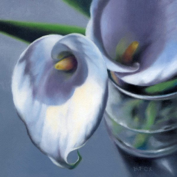 """Spring Beckons (SOLD)"" original fine art by Barbara Fox"