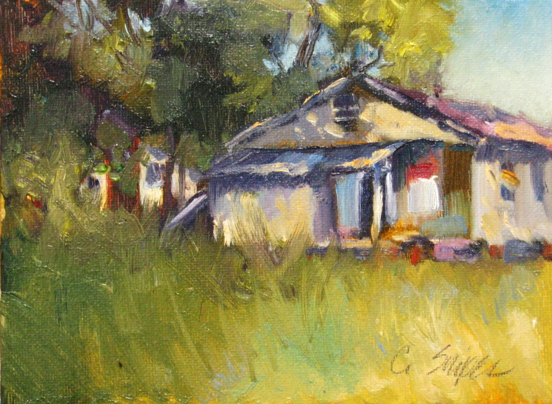 The General Store original fine art by Connie Snipes