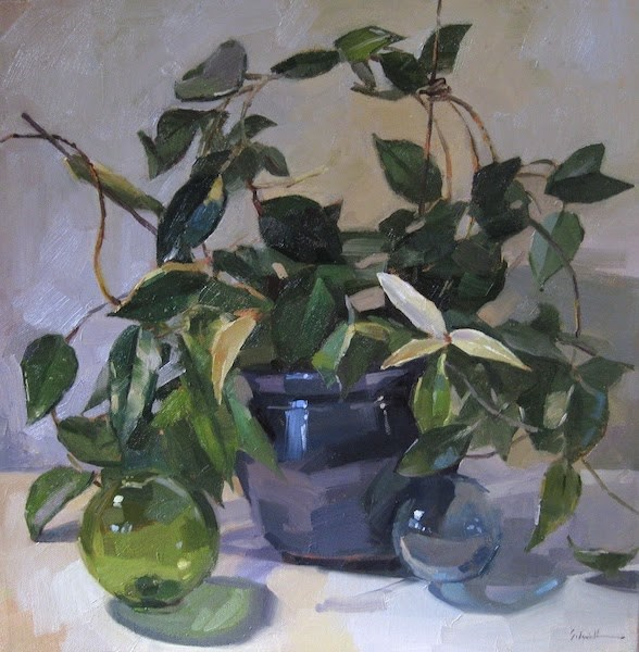 """Hoya"" original fine art by Sarah Sedwick"