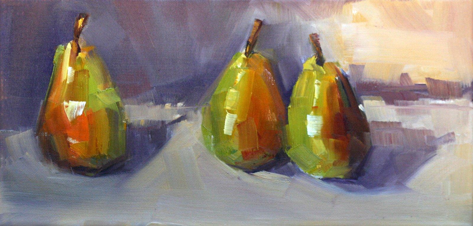 """""""one,two,three"""" original fine art by Carol Carmichael"""
