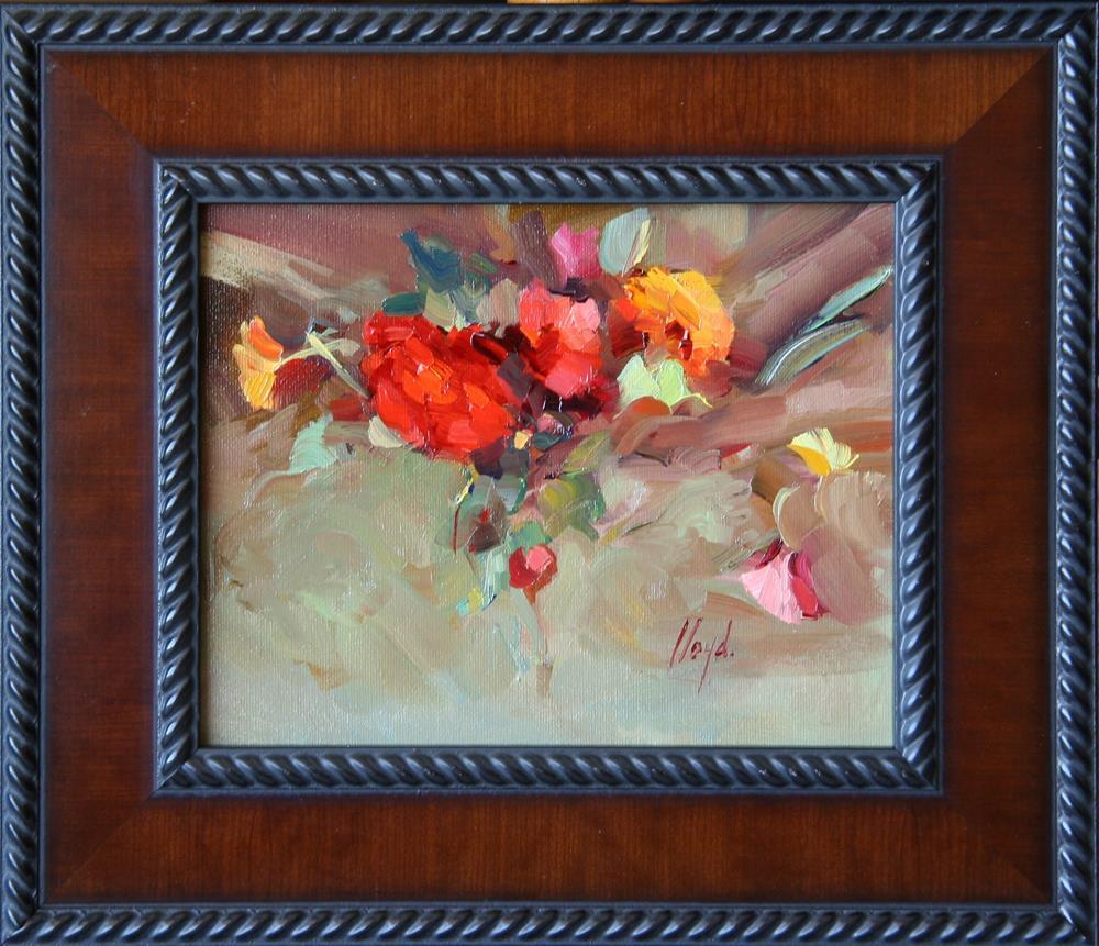 """Burst of Color"" original fine art by Diane Lloyd"