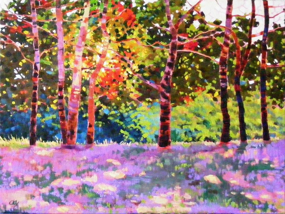 """Spring symposium"" original fine art by Celine K.  Yong"