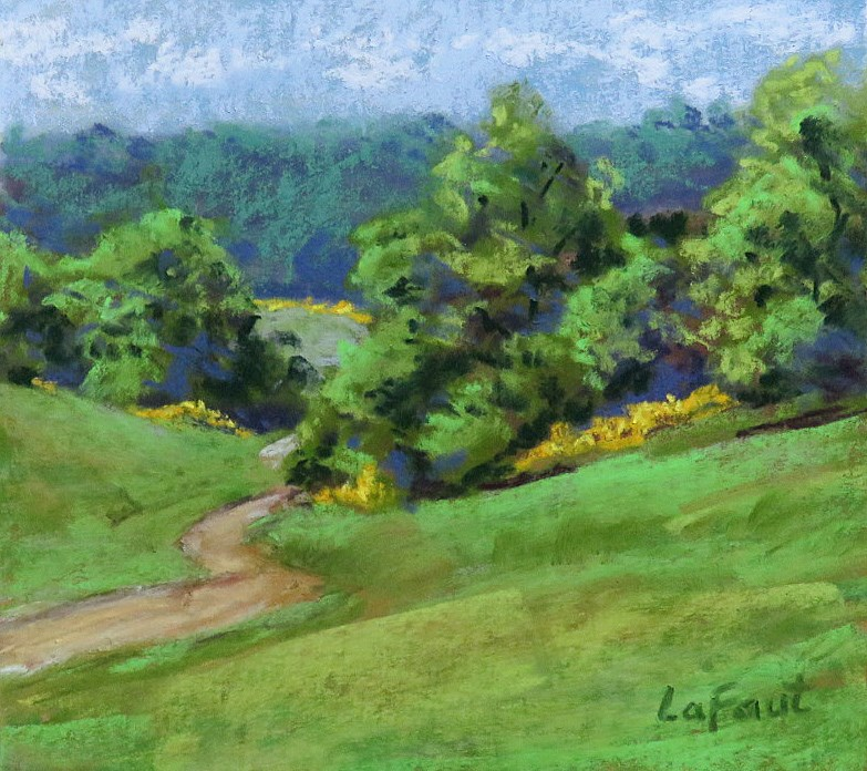 """Down to the Holler"" original fine art by Sandra LaFaut"
