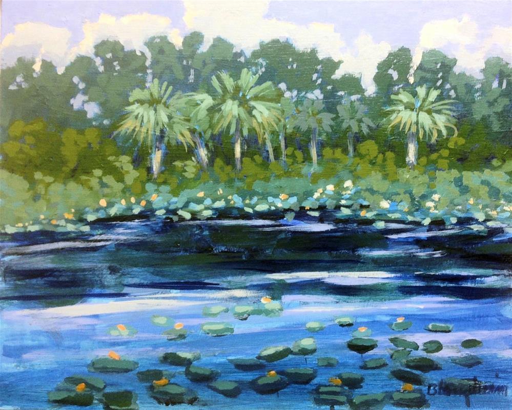 """""""Sweetwater Branch"""" original fine art by Linda Blondheim"""
