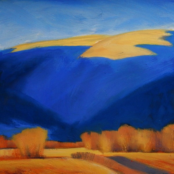 """Backdrop"" original fine art by Carolyn Caldwell"