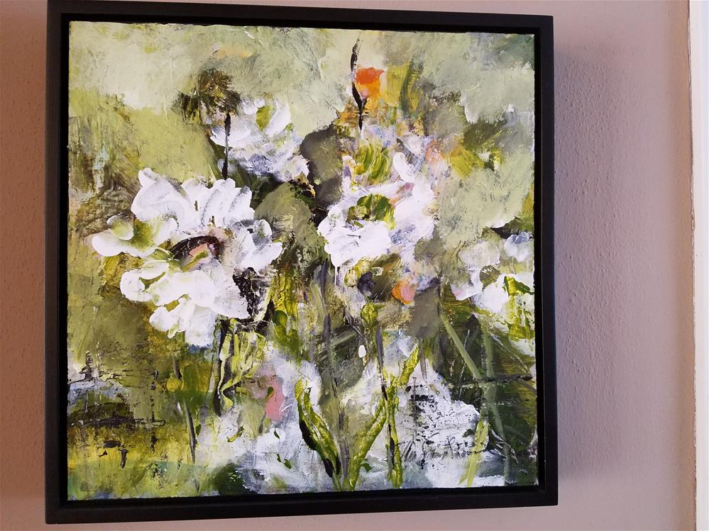 """In My Garden Series"" original fine art by Ann Spanish Manion"