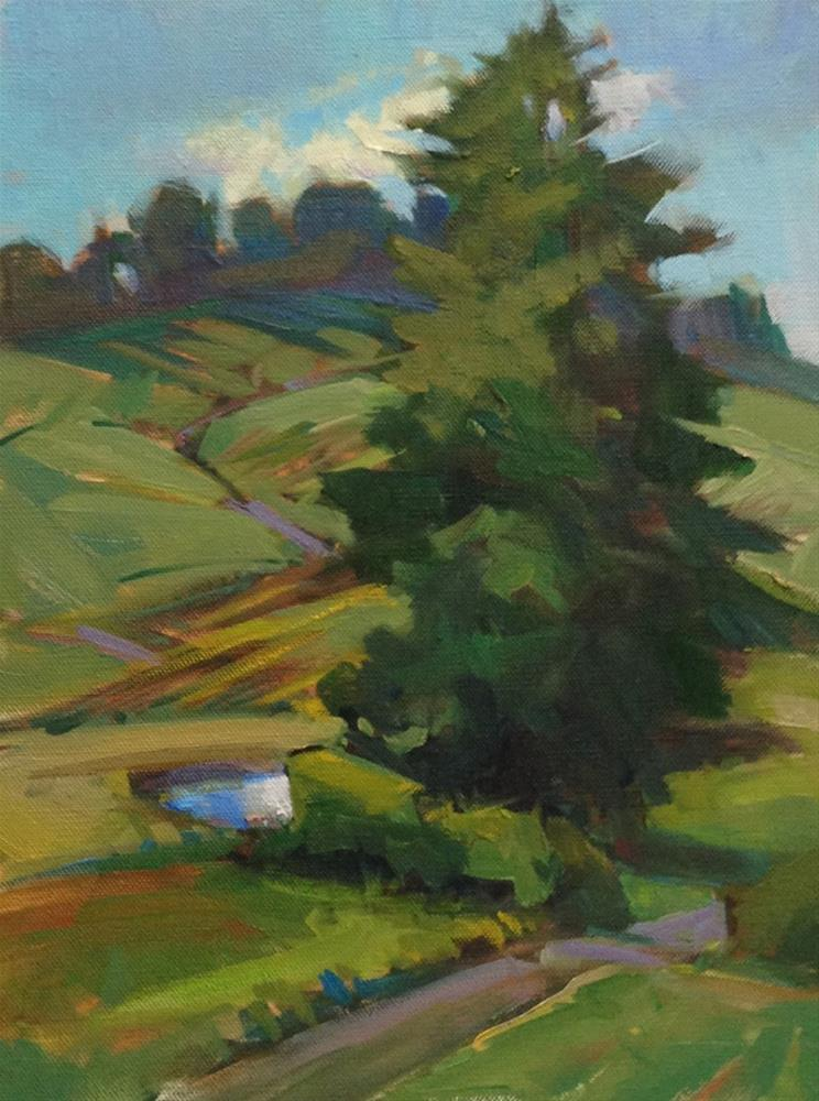 """Itty Bitty Pond"" original fine art by Patti McNutt"