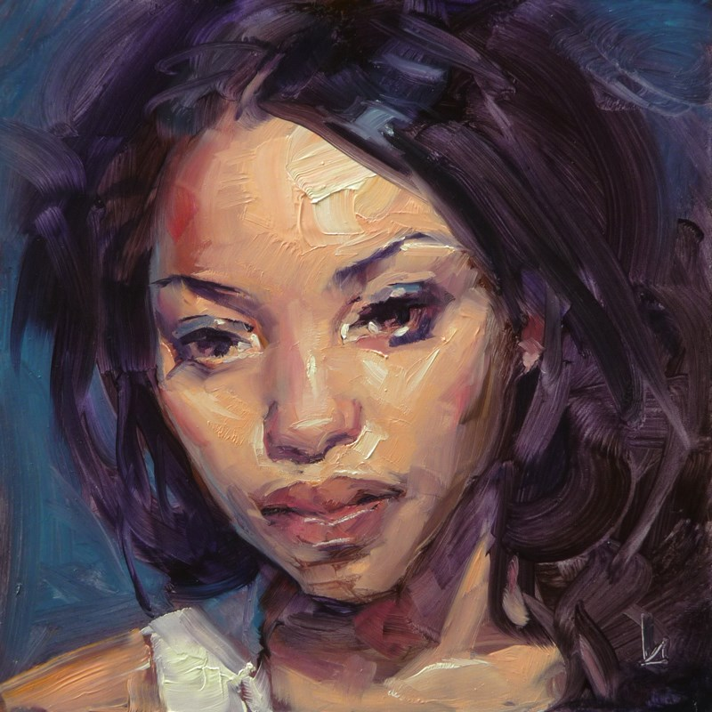 """Distant"" original fine art by John Larriva"