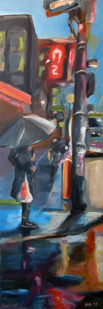 """1254 Waterproof"" original fine art by Dietmar Stiller"