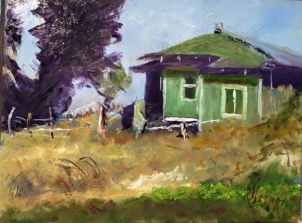 """Captured when passing by on Thompson Road,  Keokea"" original fine art by Joseph Schopen"