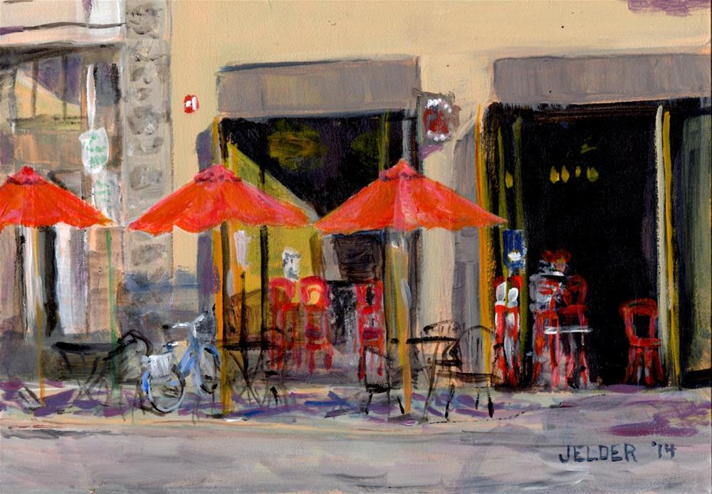 """Art Center"" original fine art by Judith Elder"