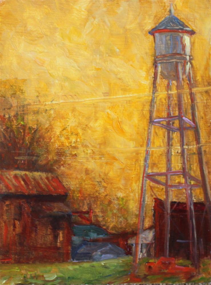 """RIDGEWAY, SC"" original fine art by barbara yongue"