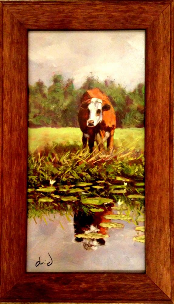 """Single and Looking"" original fine art by David Larson Evans"