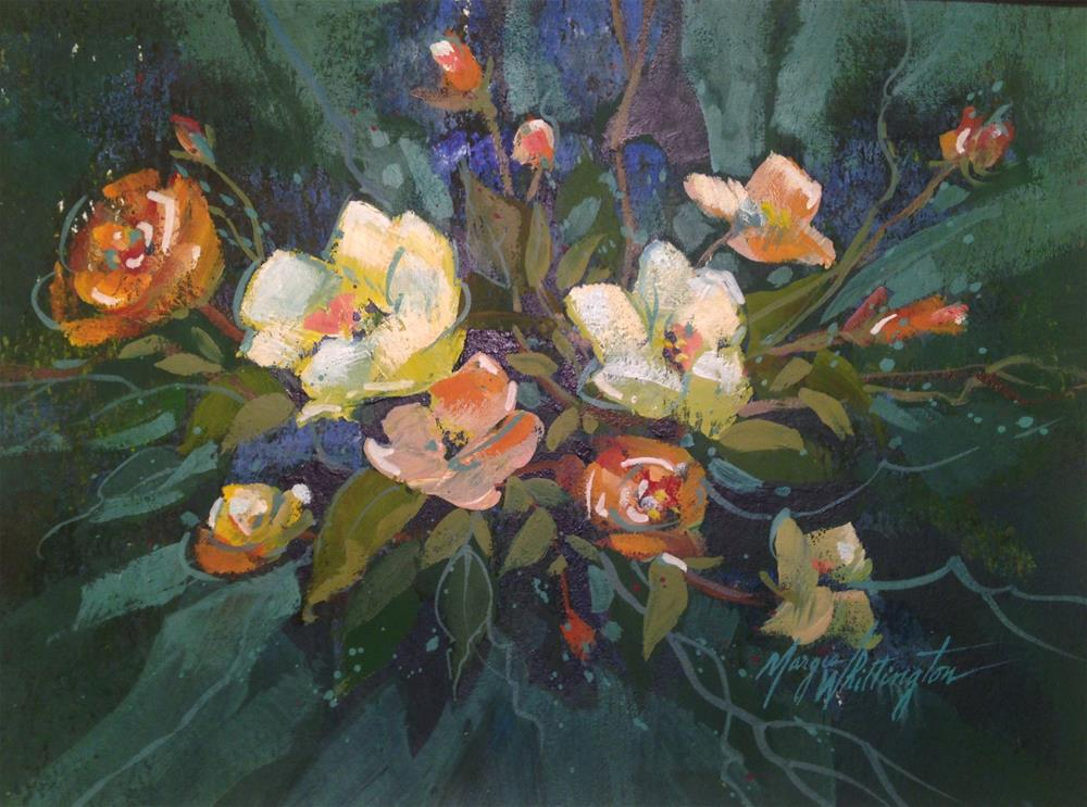 """Spring Bouquet"" original fine art by Margie Whittington"