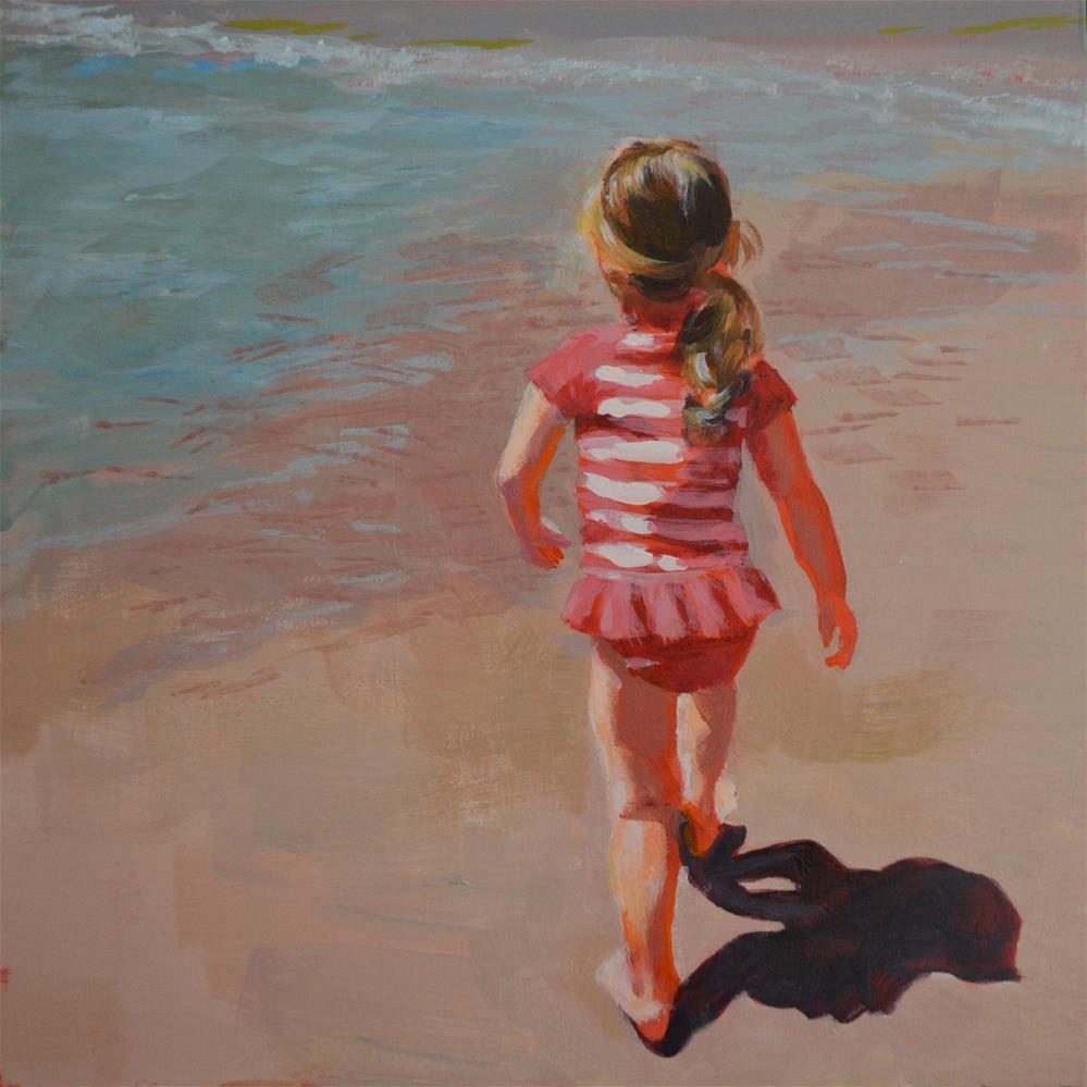 """Back to the Beach"" original fine art by Cindy McDonough"