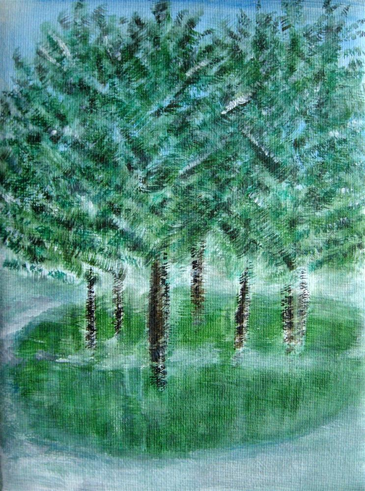 """First Snow"" original fine art by Alina Frent"