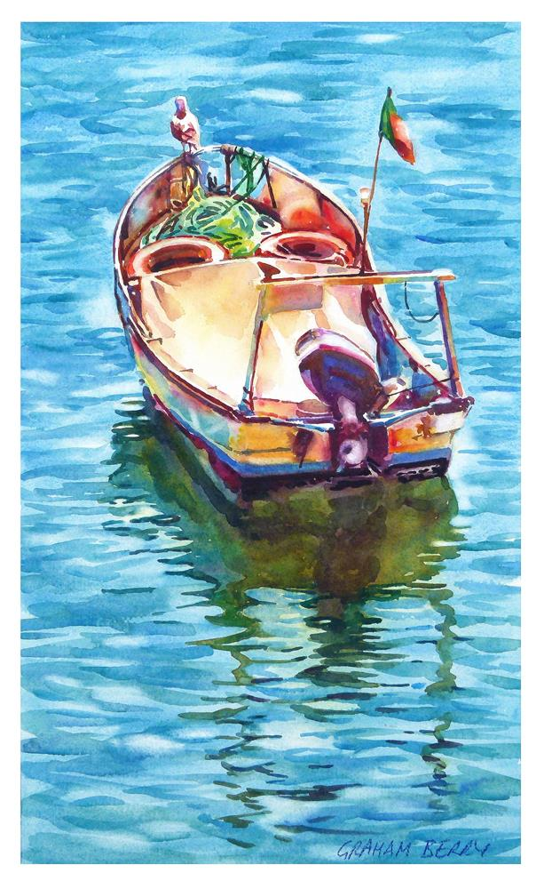 """Boat"" original fine art by Graham Berry"