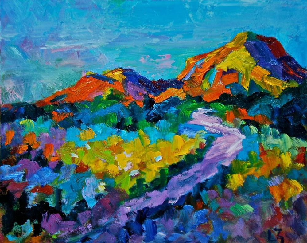 """Rocky Mountain Meadows"" original fine art by Liz Zornes"