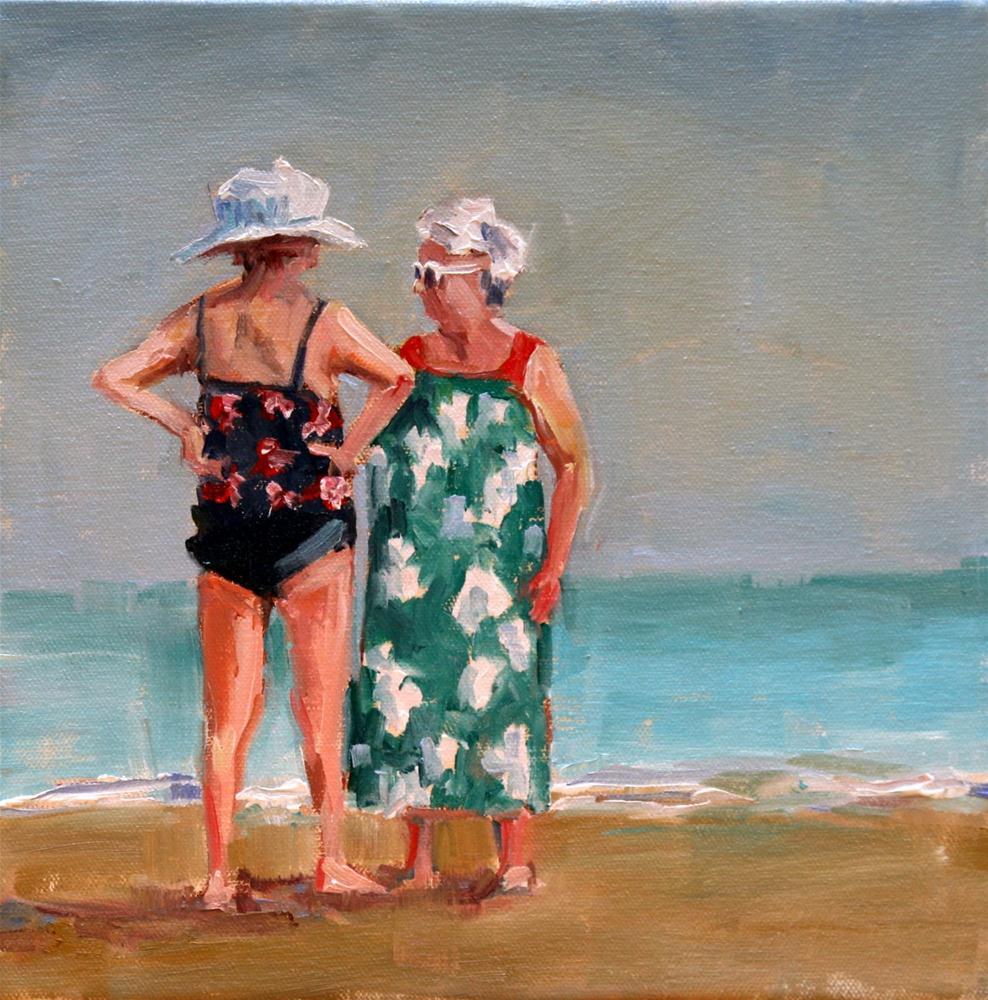 """undercover"" original fine art by Carol Carmichael"