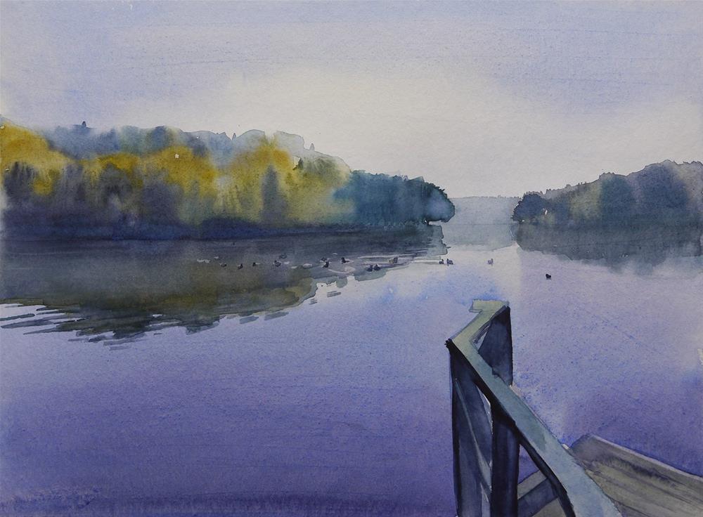 """quiet"" original fine art by Beata Musial-Tomaszewska"