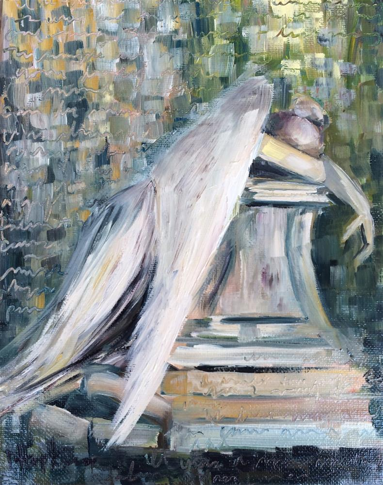 """Little Angel"" original fine art by Denise Hopkins"