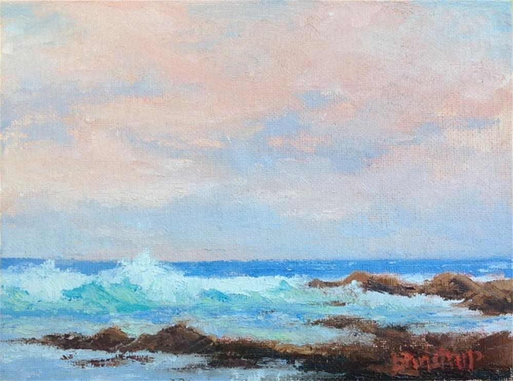 """Keawakapu Sunrise (Maui)"" original fine art by Mark Bidstrup"