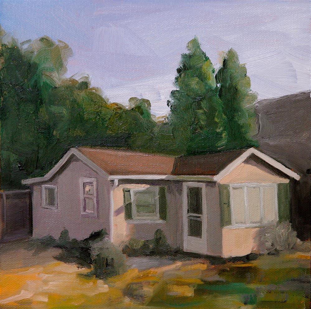 """Little Sunset Hosue"" original fine art by Skye Coddington"