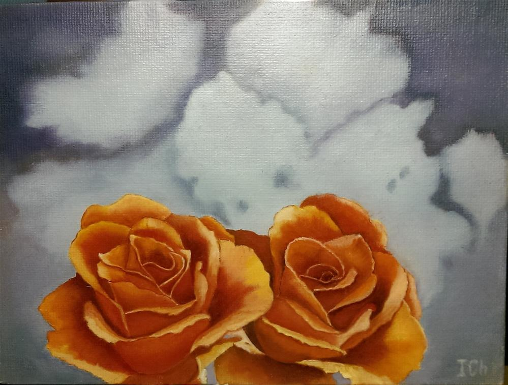 """Roses "" original fine art by Irina Chekhovtsova"