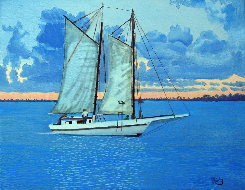 """Governor Stone"" original fine art by Alan Mintz"