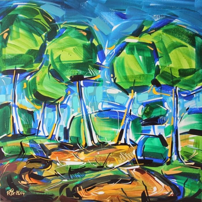 """Landscape Exploration 4"" original fine art by Roger Akesson"