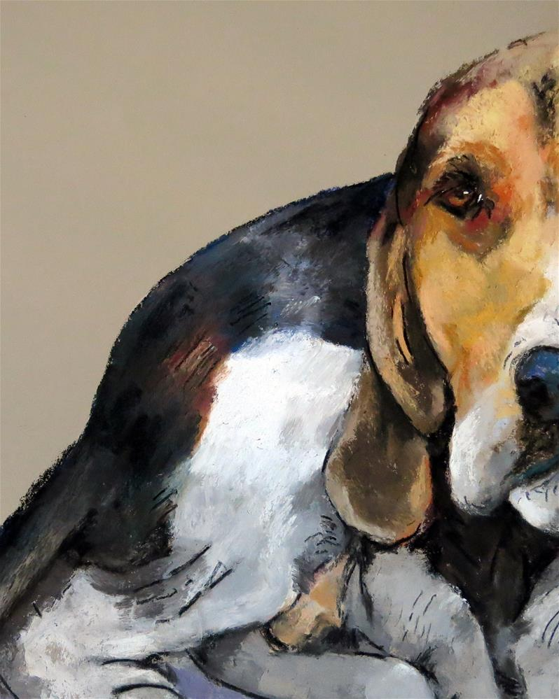 """Charlie"" original fine art by Anne Marie Propst"