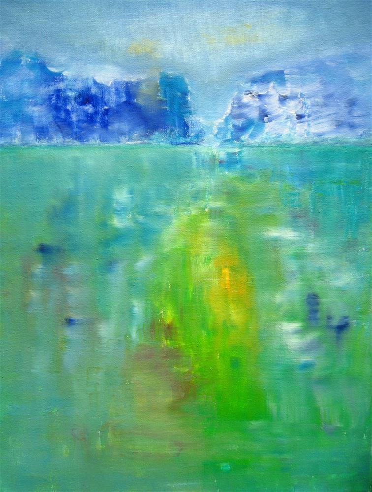 """Summer Ice"" original fine art by Alina Frent"