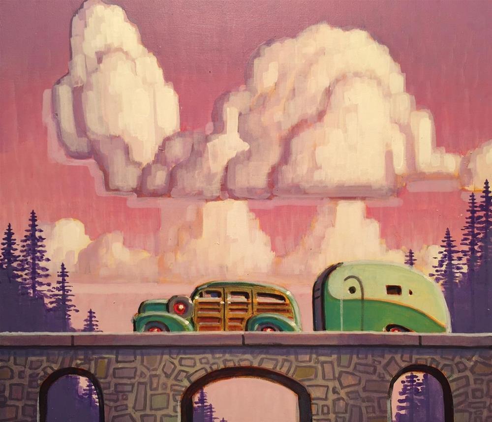 """""""Thunder"""" original fine art by Robert LaDuke"""