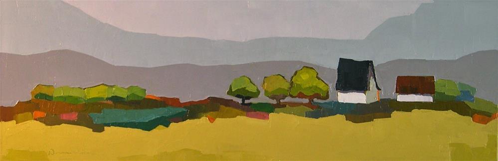 """The Land I Know"" original fine art by Donna Walker"