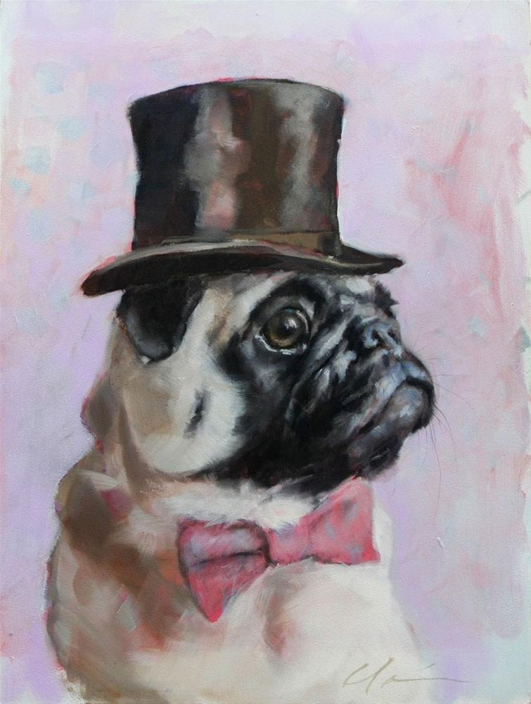 """Sir. Hubert"" original fine art by Clair Hartmann"