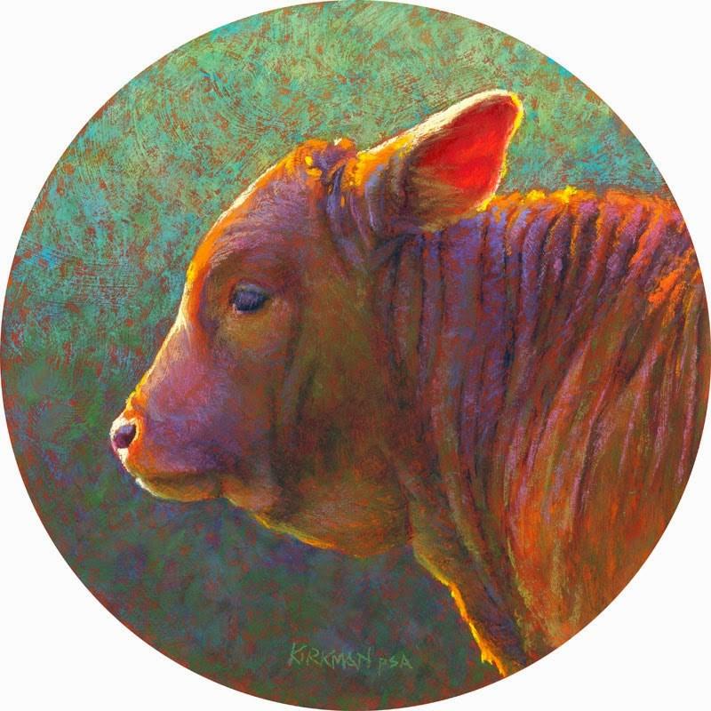 """Molasses"" original fine art by Rita Kirkman"