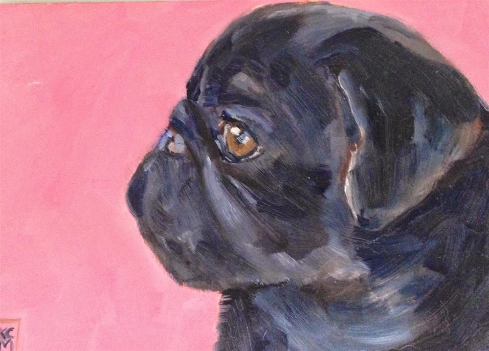 """Intensity, 5x7 Oil Painting by Kelley MacDonald"" original fine art by Kelley MacDonald"