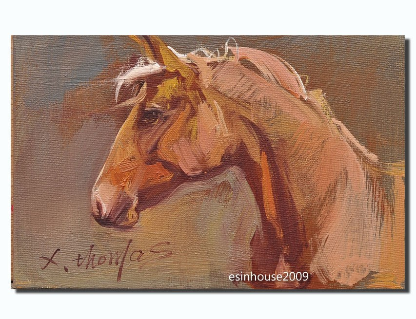 """horse"" original fine art by Thomas Xie"