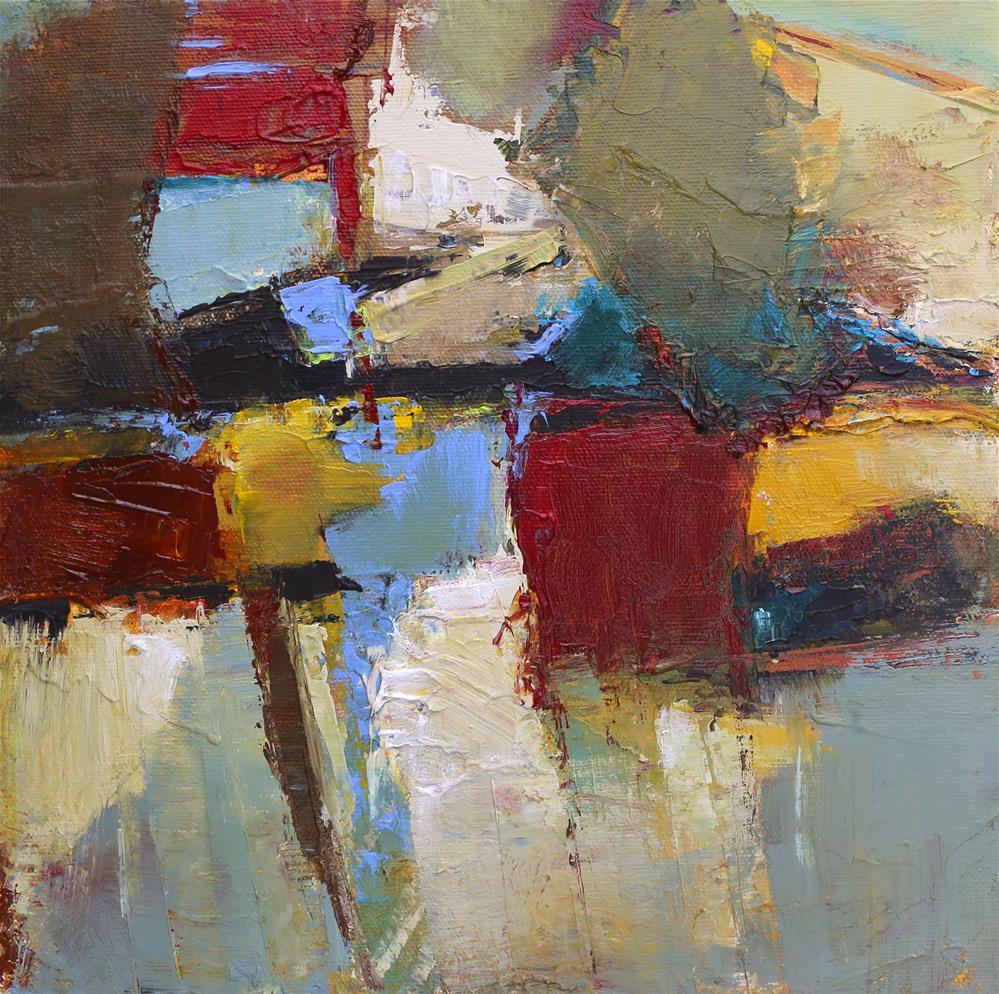 """Reflections"" original fine art by Elizabeth Chapman"