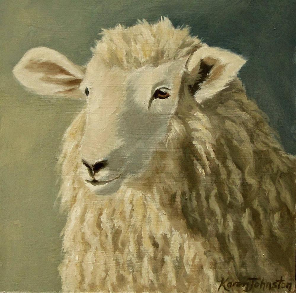 """Cover Girl"" original fine art by Karen Johnston"