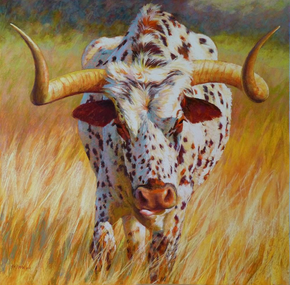 """No Bull!"" original fine art by Rita Kirkman"