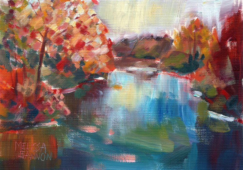 """Landscape"" original fine art by Melissa Gannon"