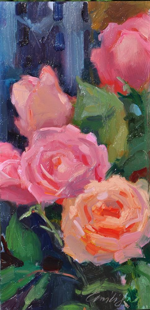 """Roses Study"" original fine art by Emiliya Lane"